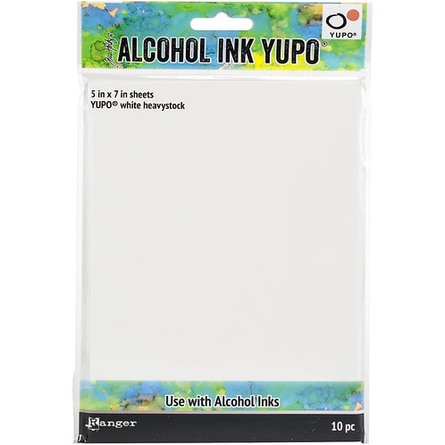Alcohol Ink YUPO White Heavy Cardstock 10pk
