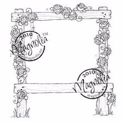 Wedding Rose Arch Stamp