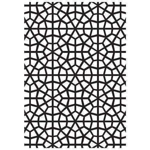 Mosaic Embossing Folder