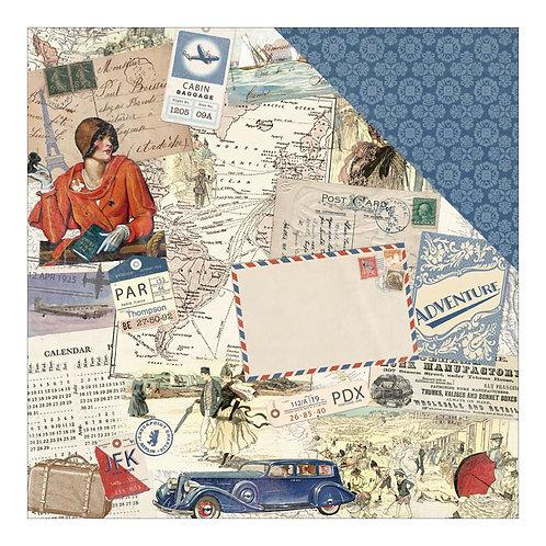 Explore Collage Cardstock 4