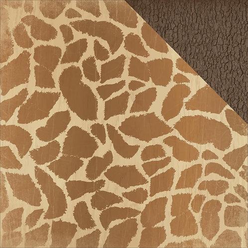 Into the Wild Giraffe Cardstock