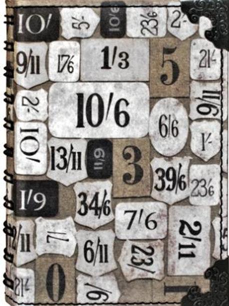 Numeric Spiral Art Journal