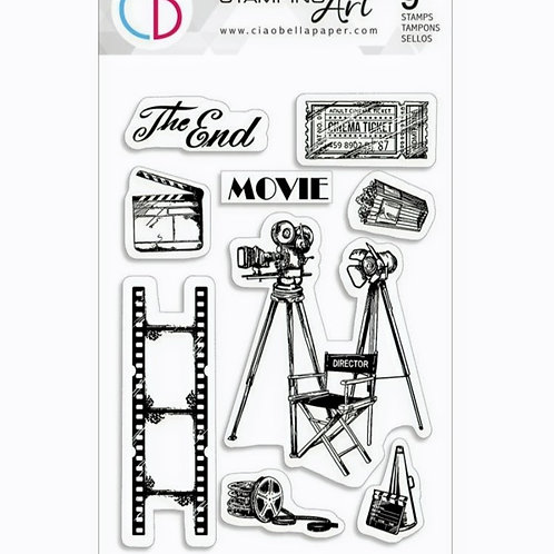 The Director Clear Stamp Set
