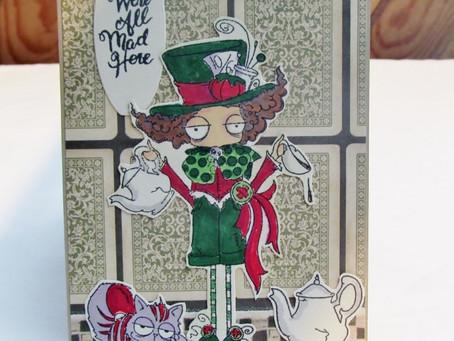 Mad Hatter Tea Cards