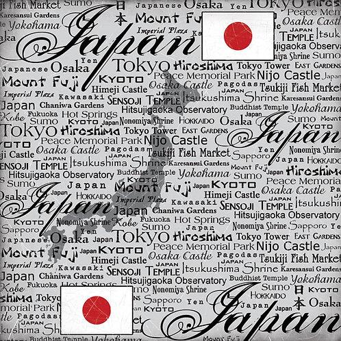 Japan Scratchy Paper