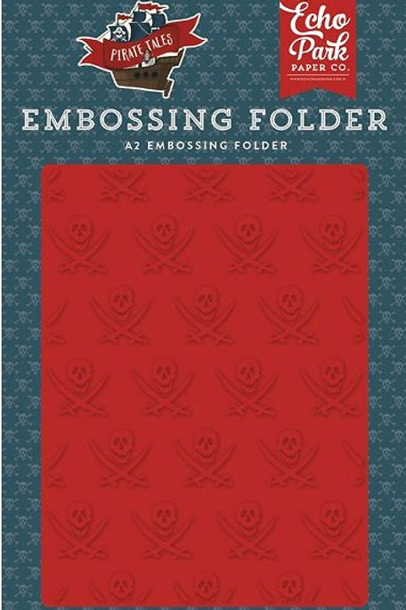 Buccaneer A2 Embossing Folder