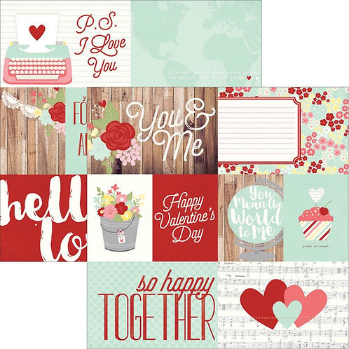 You & Me Elements 1 Cardstock