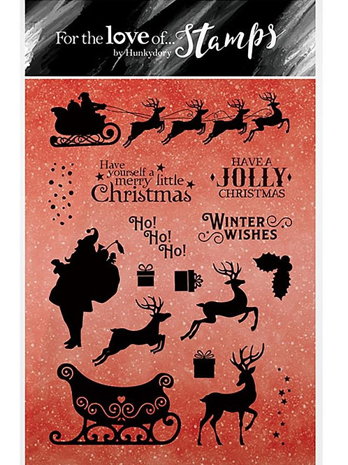 A Jolly Christmas Clear Stamp Set