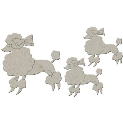 Chipboard Poodles