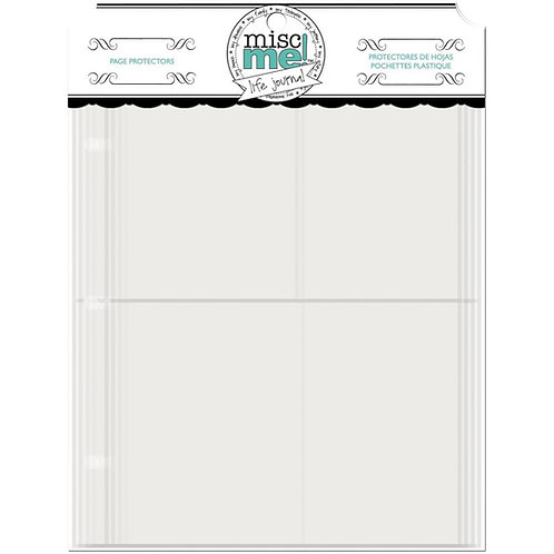 Misc Me 8x9 Page Protectors, Variety Pack