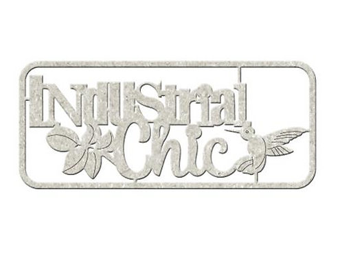 Industrial Chic Chipboard Embellishment