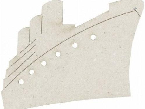 Steamship Chipboard Pieces (2 pk)