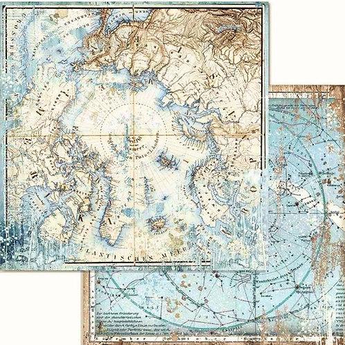 Arctic Antarctic Arctic Cardstock