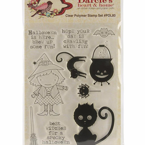 Bewitched Clear Stamp Set