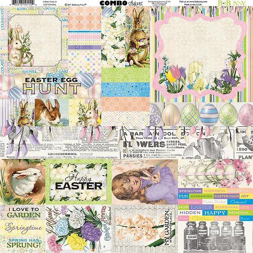 Cottontail Combo Sticker Sheet