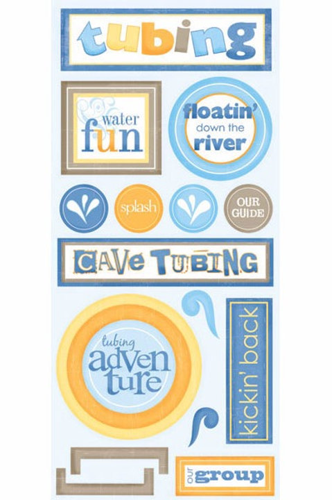 Tubing Adventure Stickers