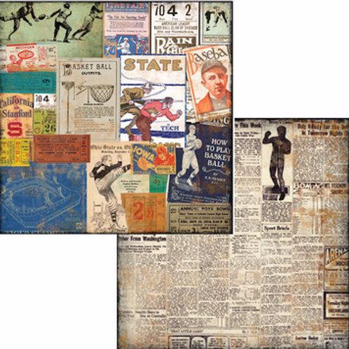 Vintage Varsity Stubbs 7Gypsies Paper