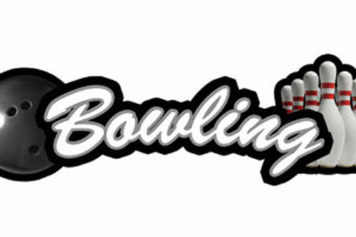Bowling Sport Topper Sticker