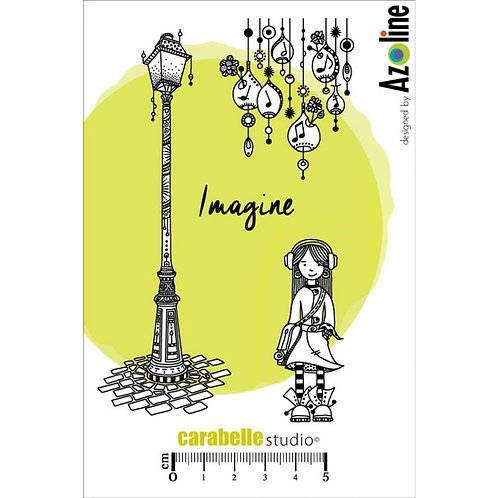 Zinouk des Petites Notes Stamp Set