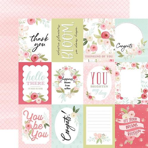 Flora No. 3 Subtle Journaling Cards Cardstock