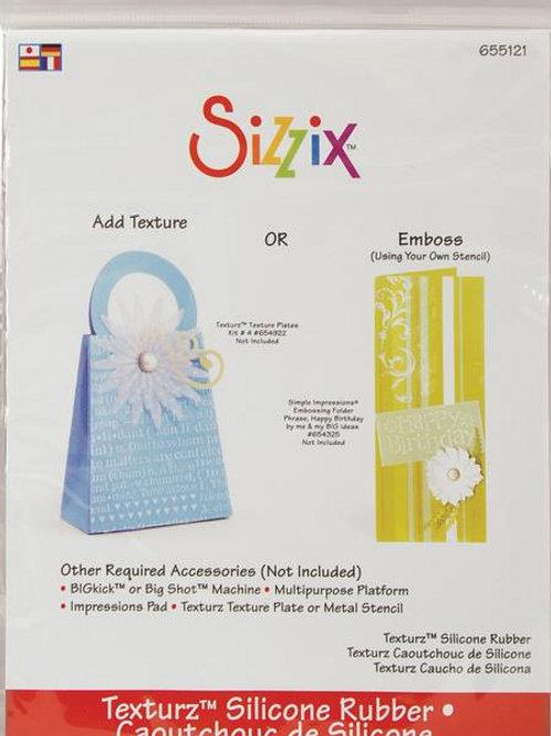 Sizzix Texturz Silicone Rubber Pad