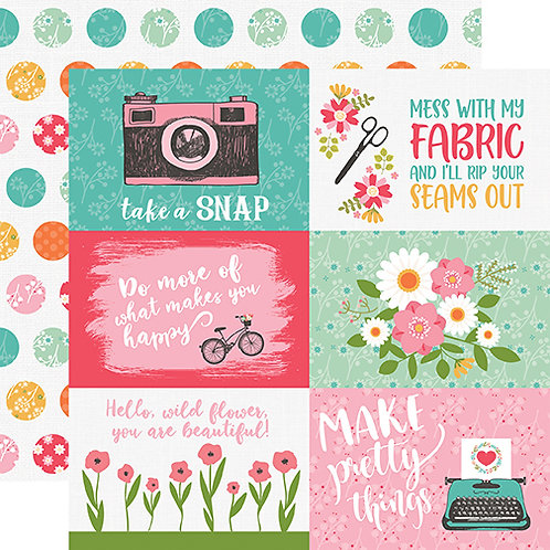 I Heart Crafting 4x6 Journaling Cards Cardstock