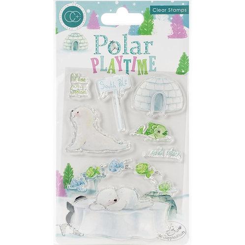 Polar Playtime Make a Splash Clear Stamp Set