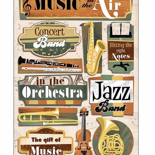 Music in the Air Sticker Sheet