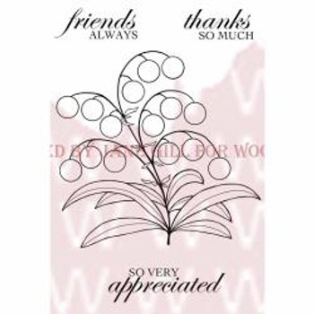 Bubble Bloom Clear Stamp Set