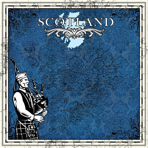 Scotland Sightseeing Cardstock