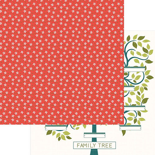 Memory Lane Family Tree Cardstock