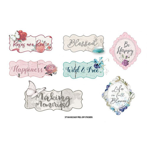 Life is Beautiful Sentiment Stickers