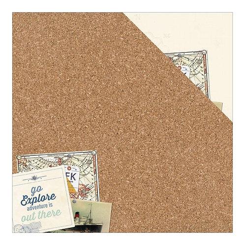 Explore Corkboard Cardstock 1