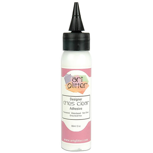 Art Glitter Dries Clear Adhesive