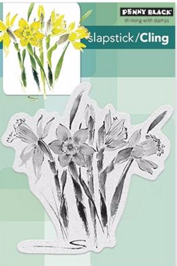 Daffodil Dance Cling Stamp