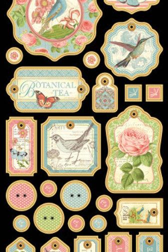 Botanical Tea Chipboard 1
