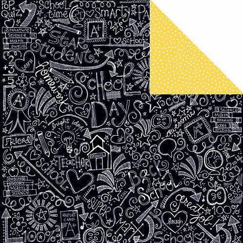 Star Student Art Journal Cardstock