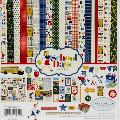 School Days 12x12 Collection Kit