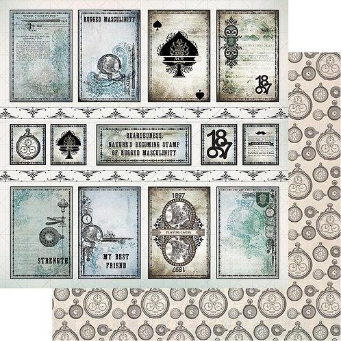 Gentlemans Emporium Cardstock #10
