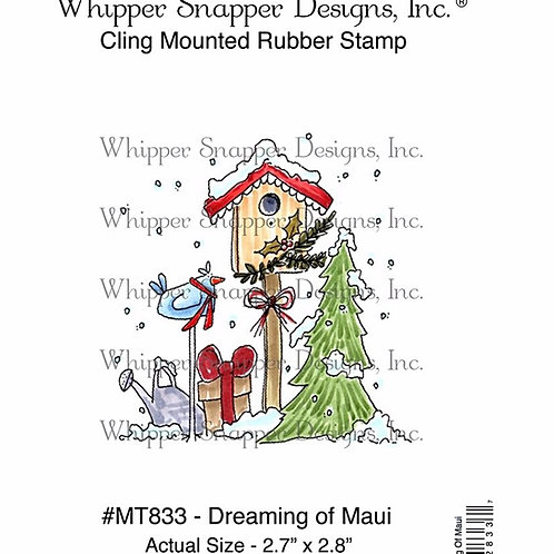 Dreaming of Maui Cling Rubber Stamp
