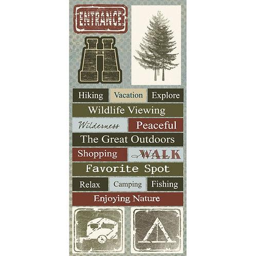 National Park Adventure Stickers