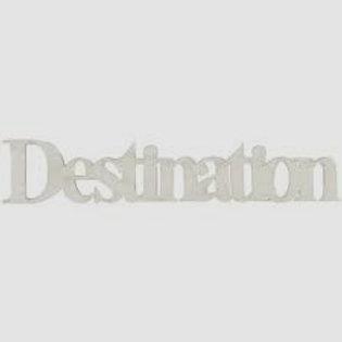Fabscraps Chipboard Embellishment Destination