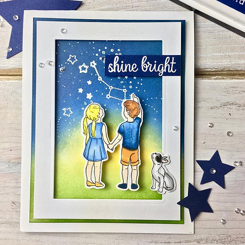 Lucky Star Clear Stamp Set