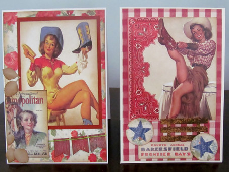 Card Fun with the Rodeo Girls