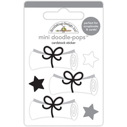 Diploma Day Mini Doodle Pops