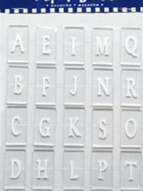 Funky Shapes Acrylic Letter Tiles