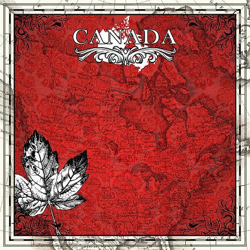 Canada Sightseeing Custom Cardstock