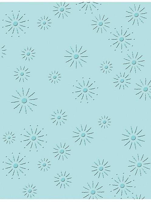 Sparkles, Texture Fades Embossing Folder
