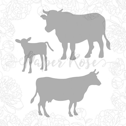 Cow Family Die Set