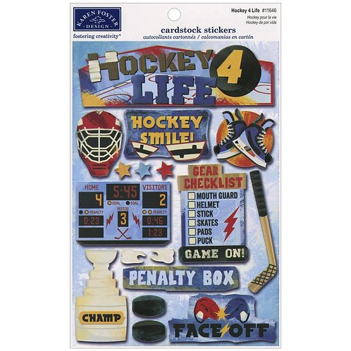 Hockey 4 Life Sticker Sheet